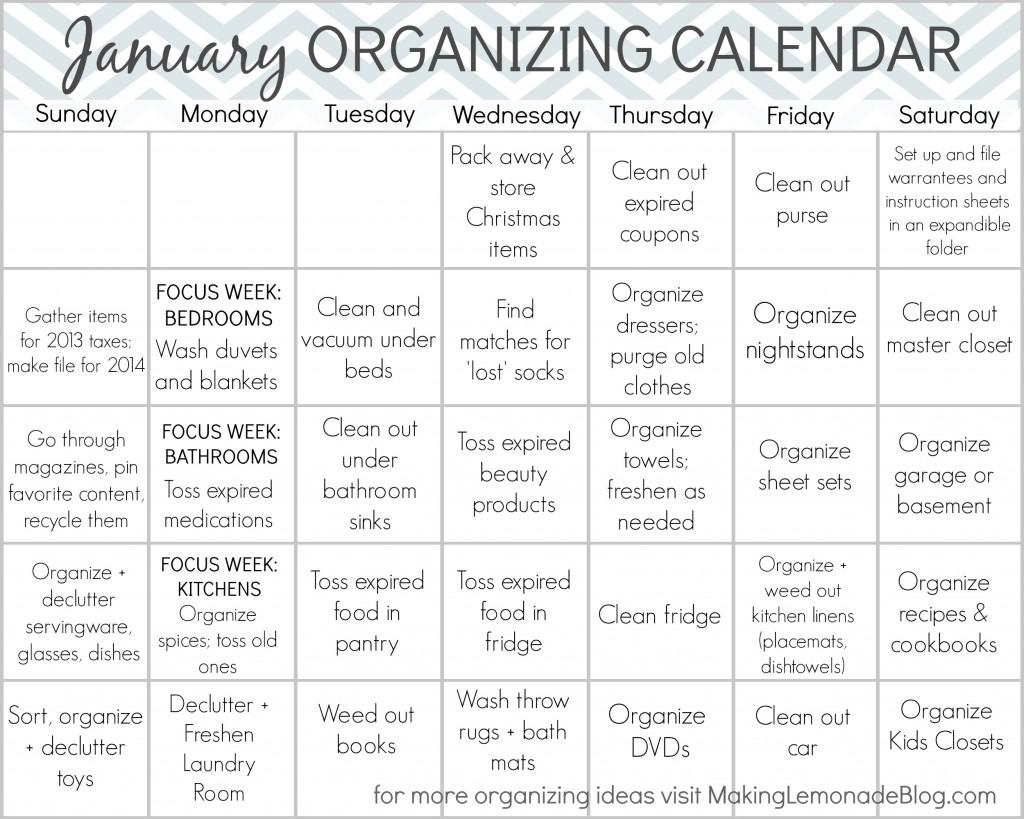 20 Free Printables to Organize Everything   Making Lemonade
