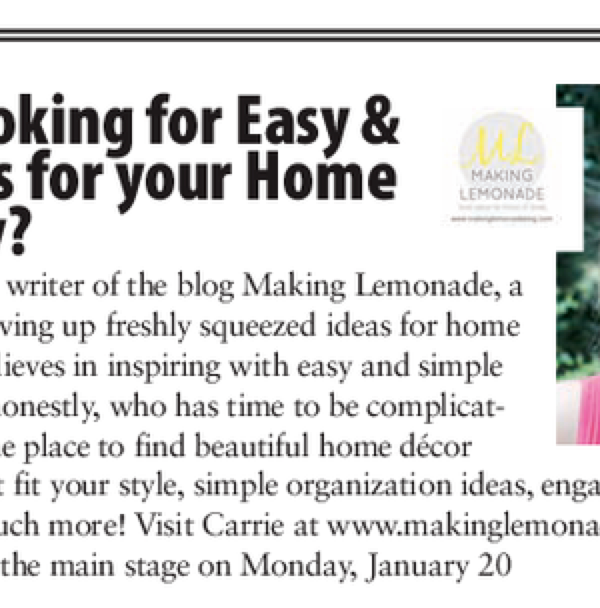 On Taking Leaps (Visit Me at the Philly Home Show!)