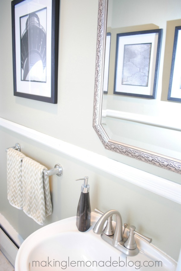 An easy bathroom update moen faucet review making lemonade for Bathroom updates