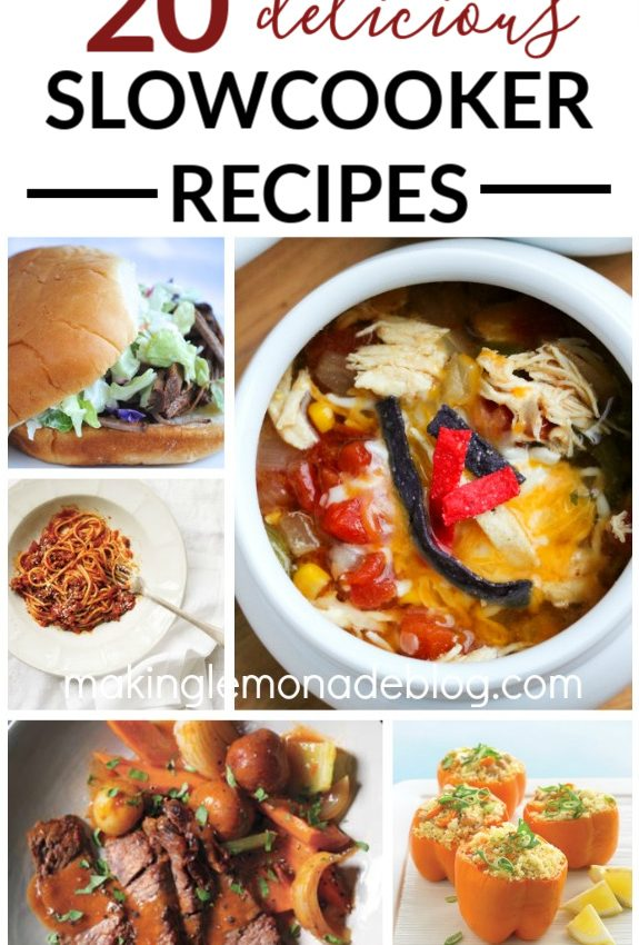 20 Easy and Delicious Slow Cooker Recipes!