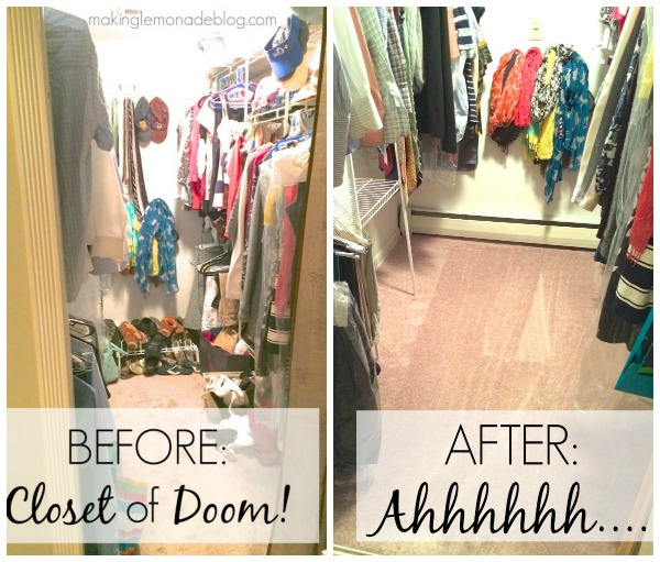 6 Secrets For Closet Organization Tips Tricks