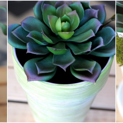 Decorative Spring Flower Pots, 3 Ways