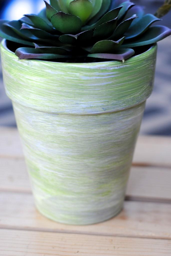 decorative spring flower pots  3 ways