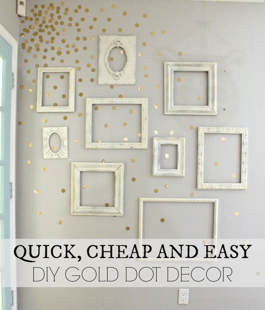 Polka Dots and Dotted Home Decor Trend: Ideas and Inspiration! www.makinglemonadeblog.com