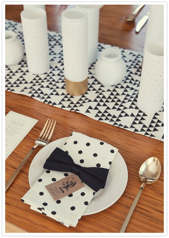 Spotted polka dotted home decor trend watch making for Black and white polka dot decorations