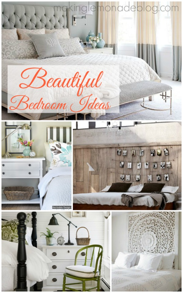 Beautiful Bedrooms: Master Bedroom Inspiration | Making Lemonade