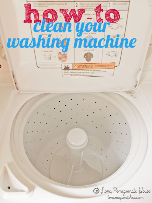 How To Spring Clean Gorgeous Of How to Clean Your Washing Machine Photo
