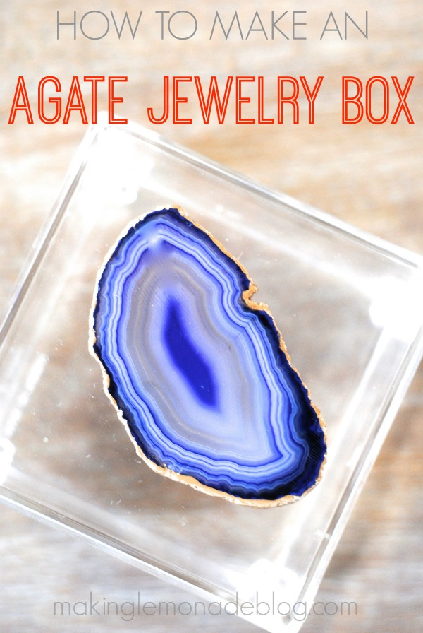 How to Make an Agate Jewelry Box