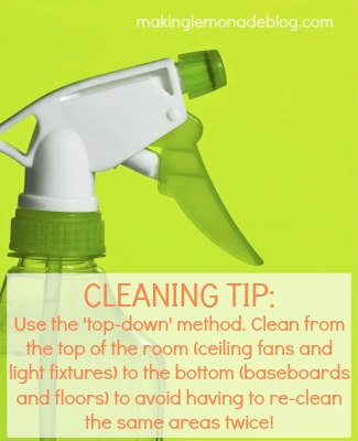 31 Quick And Easy Spring Cleaning Tips Via Www Makinglemonadeblog