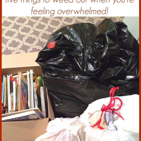 5 Quick Clutter Busters! Instant Ways to Declutter Your Home via www.makinglemonadeblog.com #organization