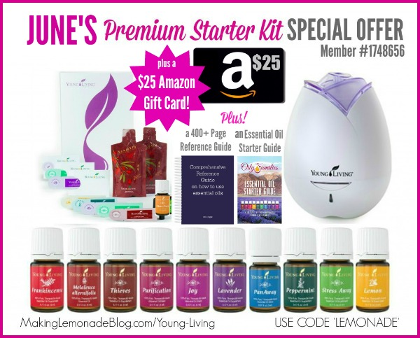 This is, quite honestly, the best deal I've ever seen for the Young Living Premium Starter Kit!