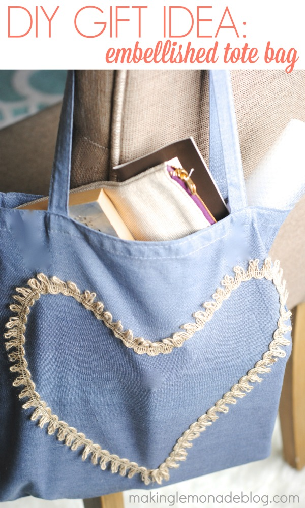 Mother S Day Gift Idea Hand Dyed Embellished Tote
