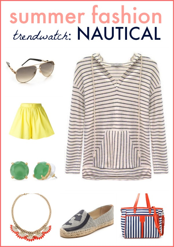 spring summer 2014 trend watch: nautical style!