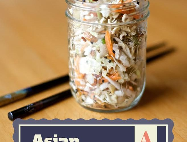 Crunchy Asian Slaw Recipe {Summer Salad Series} #summer #recipes #salad via www.makinglemonadeblog.com