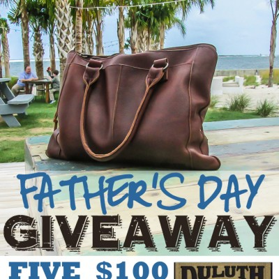 Father's Day Giveaway: 5 $100 Gift Cards!