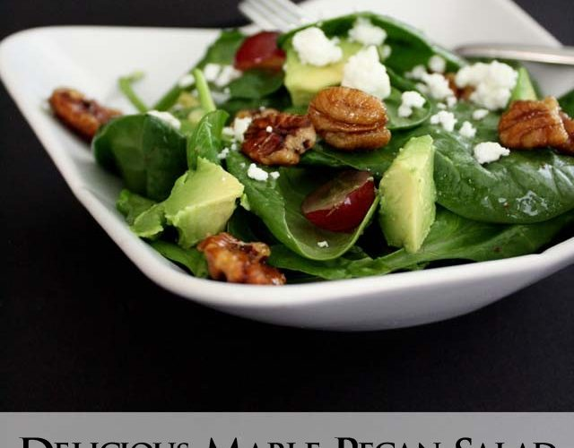 Maple Pecan Salad