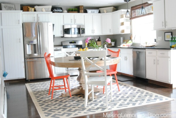Budget Kitchen Renovation Source List (how to get high style on a dime!) #kitchen #renovation makinglemonadeblog.com