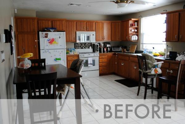 Amazing Budget Friendly Kitchen Renovation Transformation Modern White Remodel Kitchens