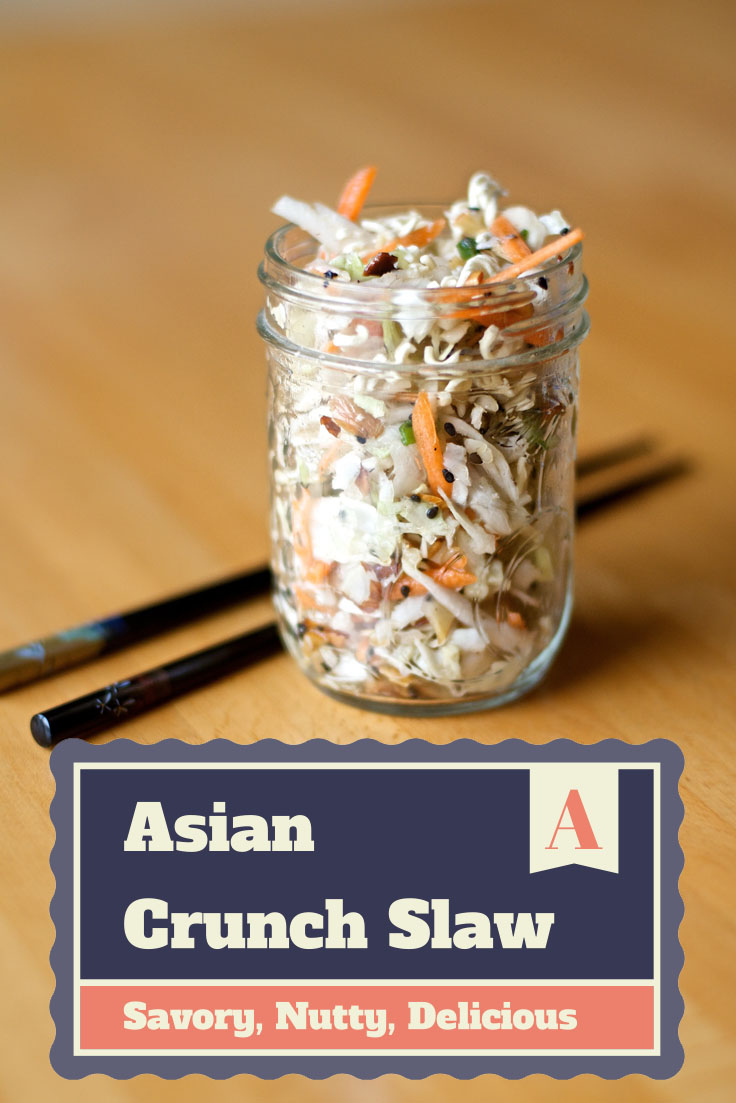 Crunchy Asian Slaw Recipe {Summer Salad Series} #summer #recipes #salad via www.makinglemonadeblog.com