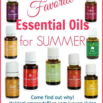 Essential Oils for Summer: Tips, Tricks, & Favorites!