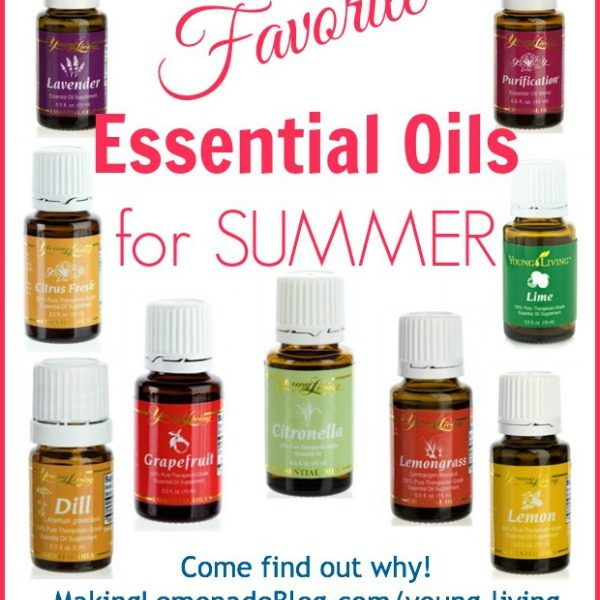 Favorite Essential Oils for Summer #essentialoils #youngliving makinglemonadeblog.com