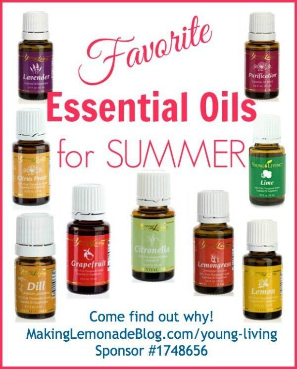 Essential Oils for Summer: Tips, Tricks, & Favorites!