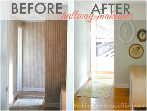 Small Updates make a BIG Impact (Hallway Makeover) #hallways #makeover