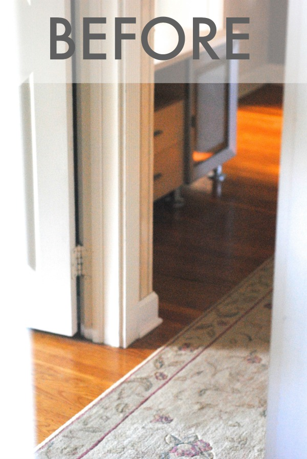 Small Updates make a BIG Impact (Hallway Makevoer) #hallways #makeover