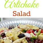 Greek Artichoke Pasta Salad {Making Lemonade Summer Salad Series}