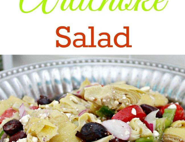 Greek Artichoke Pasta Salad {Making Lemonade Summer Salad Series}