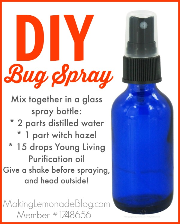 Homemade diy bug spray using essential oils and which oils to use to