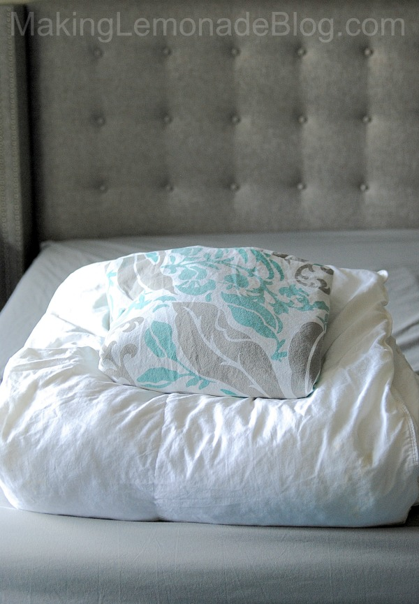 Covering a duvet has never been easier!