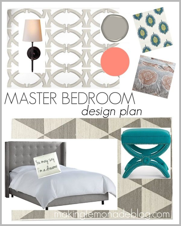 Master Bedroom Makeover Design Ideas: The Plan