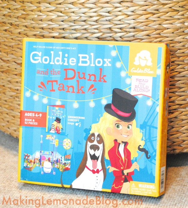 Goldie Blox Toys for Girls: these sets are the BEST, kids learn while they play! #LookAtGoldie