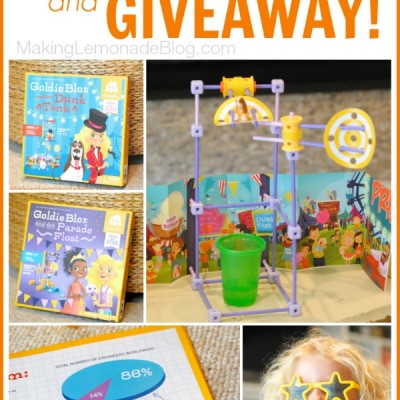 Clever Toys for Girls (& a Giveaway!) #LookAtGoldie
