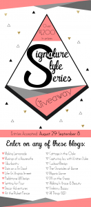 Signature Style Gallery and HUGE Giveaway!