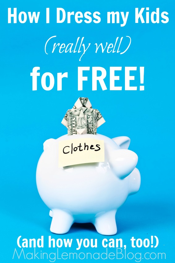 Amazing tips on how to get name-brand kids clothes FOR FREE! Yes, FREE! Follow this system, it really works! #kids #backtoschool