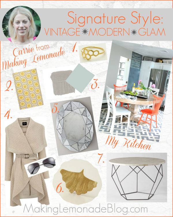 Signature Style Series: Find homes that match your style! This one is modern, vintage, glam. #style #modern