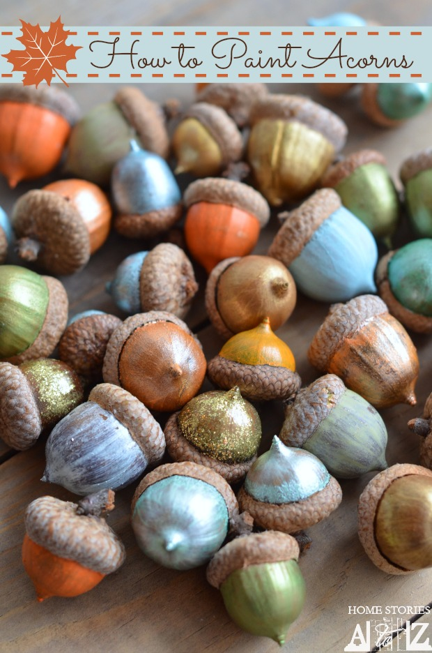 Acorn inspired fall decor diy fall decor ideas making for How to preserve acorns
