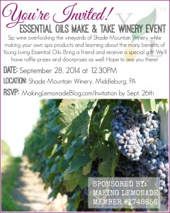 You're Invited: Make & Take Winery Event!