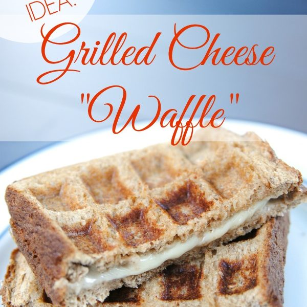 easy grilled cheese waffles