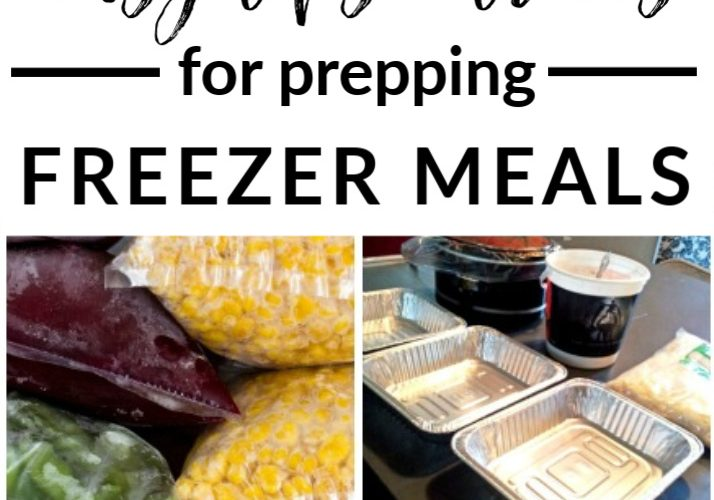 the MOTHERLOAD of tips for meal prepping easy + delicious freezer meals & recipes!