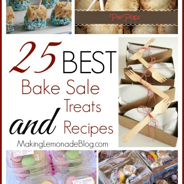 25 Best Bake Sale Treats and Recipes