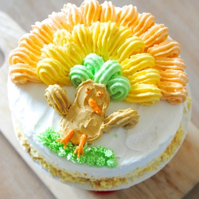 Cake Decorating Made Easy {& Thanksgiving Cake Idea!}