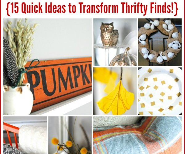 15 Thrifty Fall Decor Ideas {more Dollar Store Decor