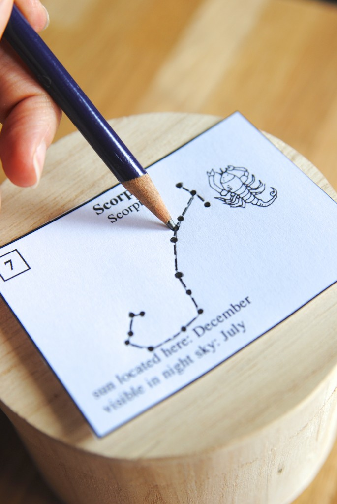 Diy Gift Ideas Constellation Box And Tree Ring Coasters