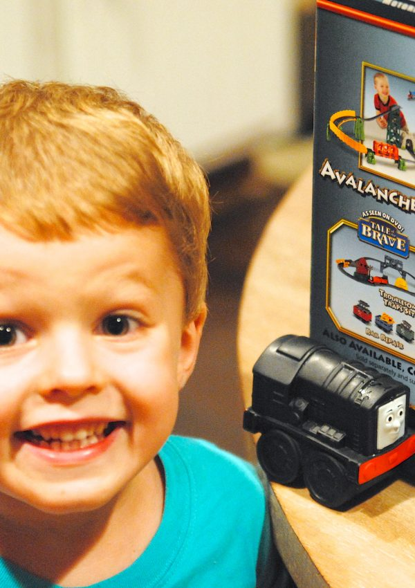 Thomas the Train Trackmaster Toys {say that 3 times fast!}