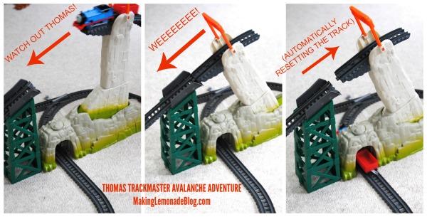 trackmaster avalanche escape