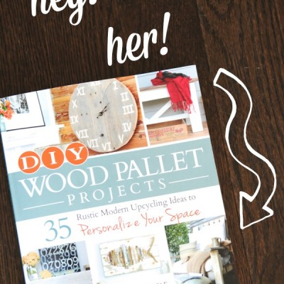 DIY Wood Pallet Projects (Book Review and Giveaway!)