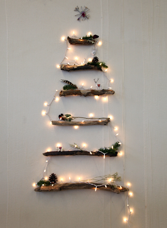 25 gorgeous ways to use christmas lights - Decorating With Colored Christmas Lights